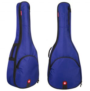 Road Runner Avenue Acoustic Guitar Gig Bag Blue