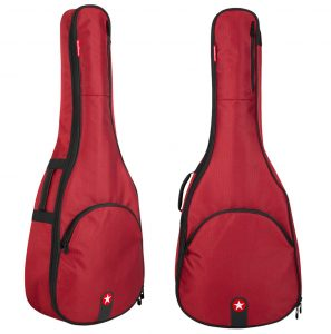 Road Runner Avenue Acoustic Guitar Gig Bag Red