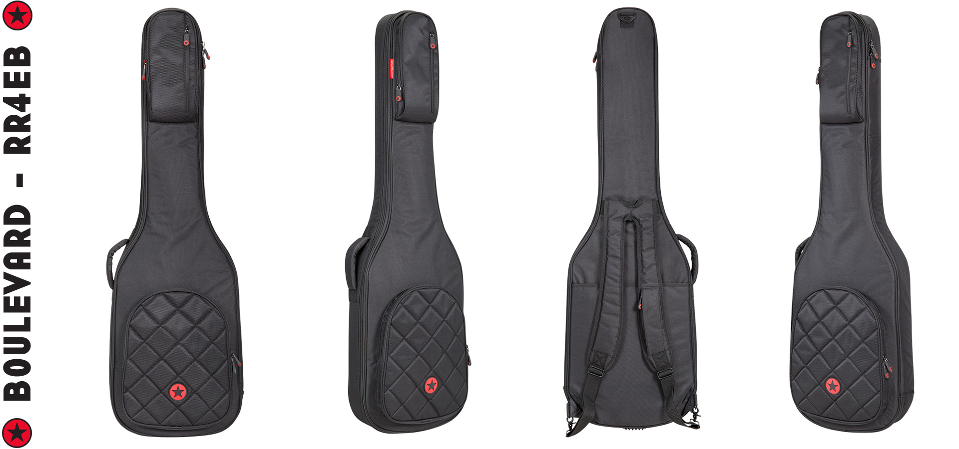Electric Bass Gig Bag Road Runner Boulevard RR4EB