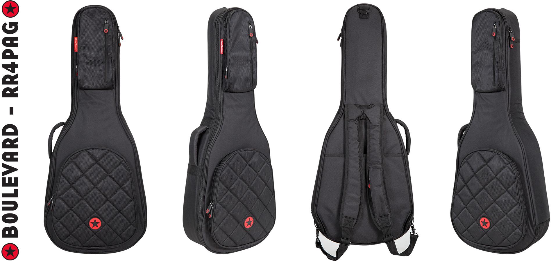 Parlor Acoustic Guitar Bag Road Runner Boulevard Series RR4PAG