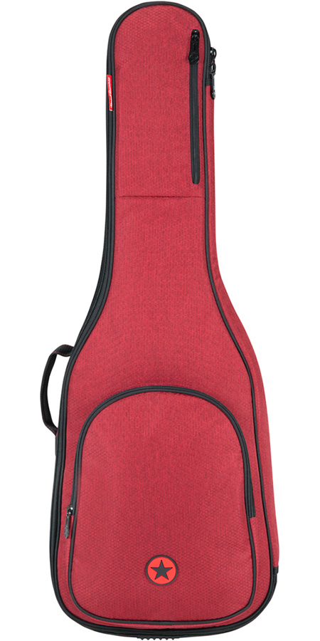 Road Runner RR1AGRH Acoustic Guitar Bag Red Honeycomb