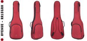 Road Runner RR1EGRH Electric Guitar Bag Red Honeycomb