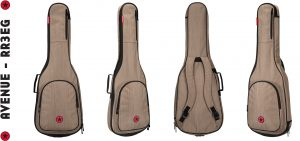 Road Runner RR3EGBRN Electric Guitar Bag