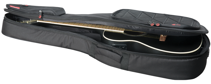 Orchestra-Size Acoustic Guitar Gig Bag Road Runner Boulevard RR4TOM