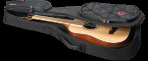 Parlor Acoustic Guitar Gig Bag Road Runner Boulevard RR4TPAG