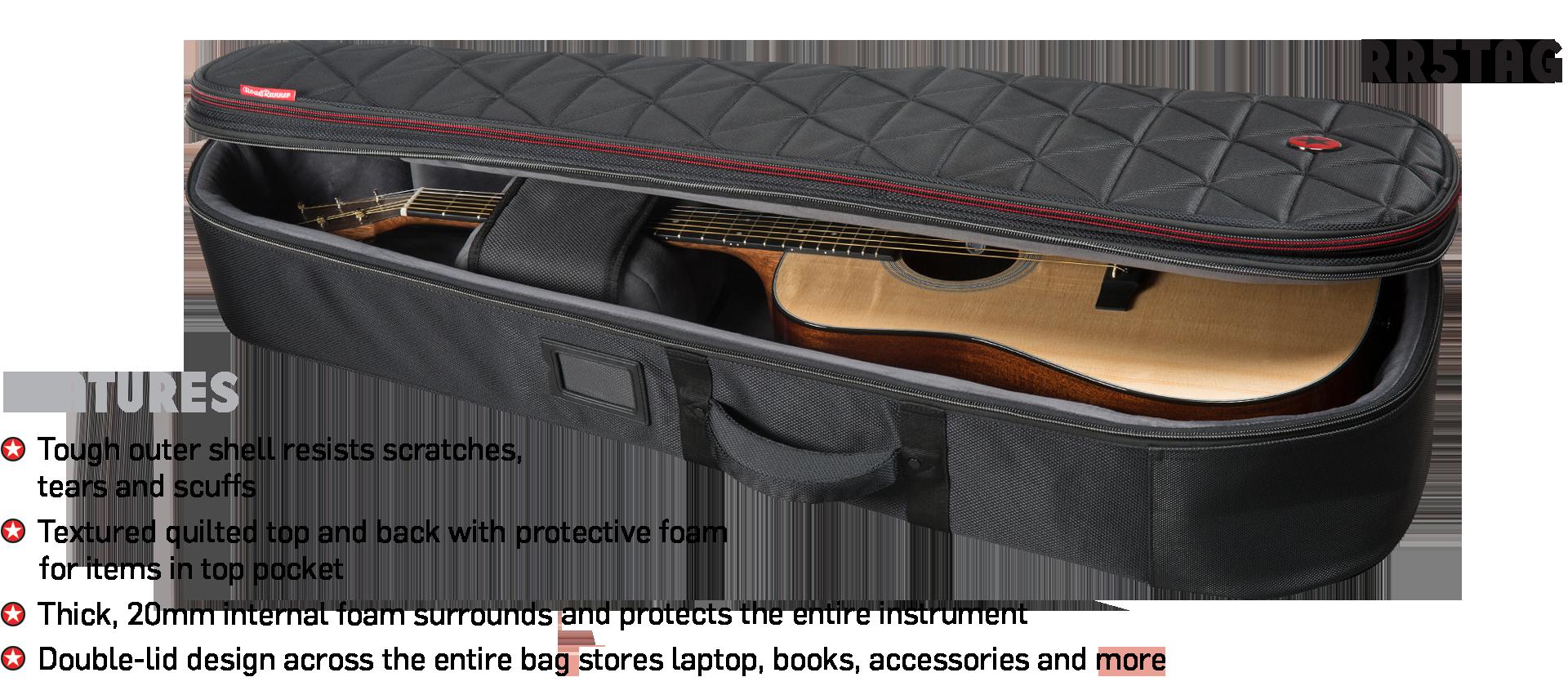 Highway Acoustic Guitar Gig Bag Road Runner