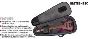 Road Runner RR5TEB-BSC Electric Bass Bag