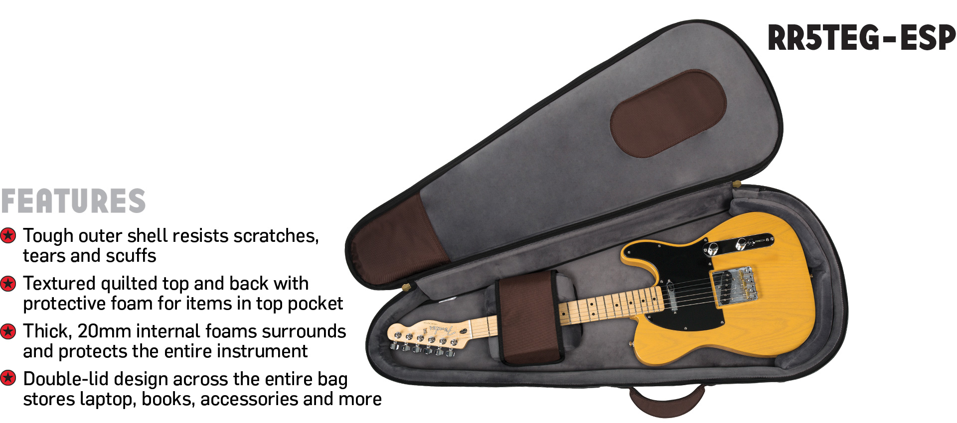 Highway Electric Guitar Gig Bag Road Runner